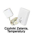 Czujniki Zalania, Temperatury